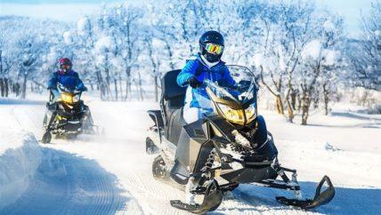 snowmobile-in-gudauri